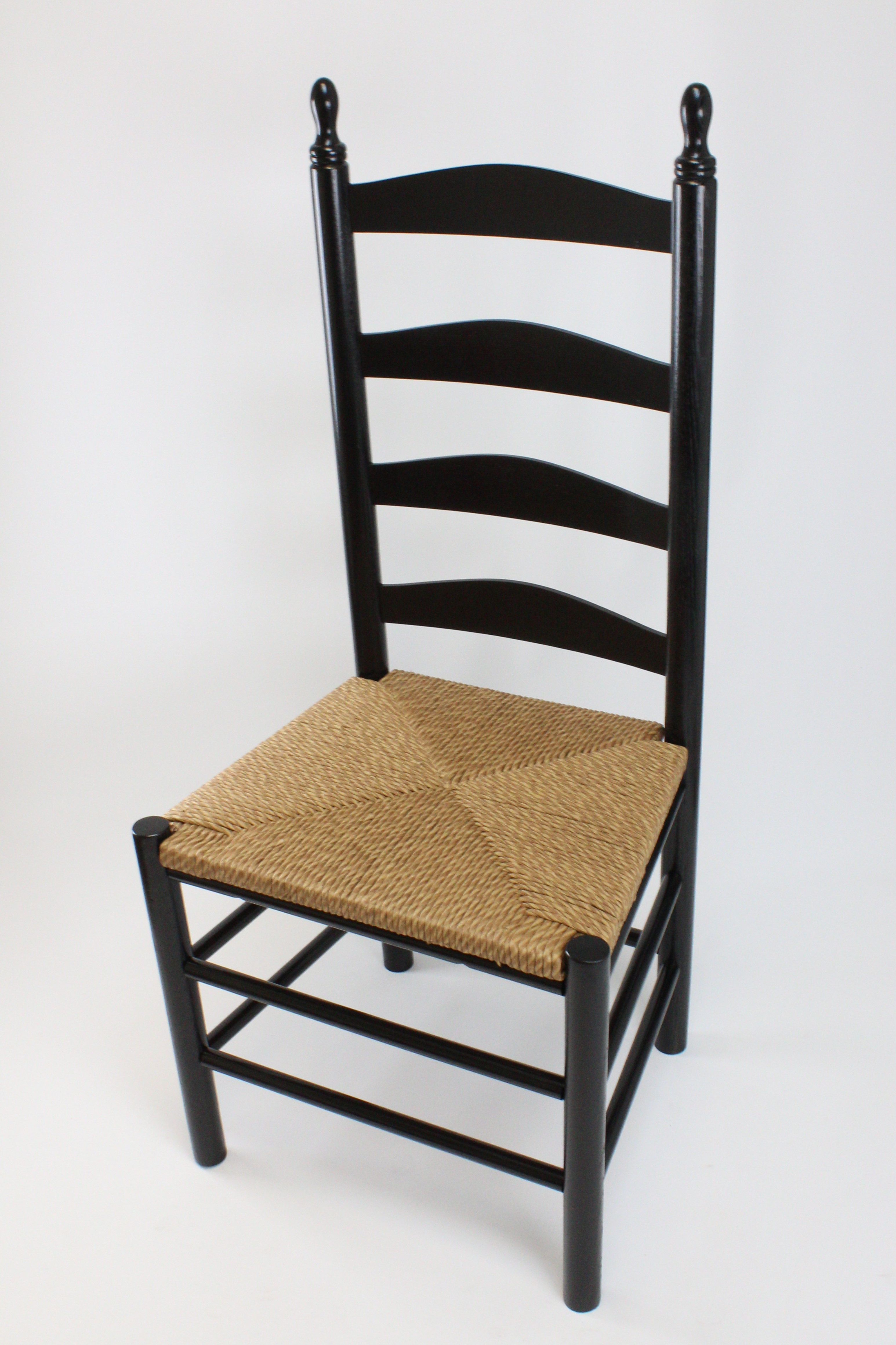 Picture of: Calabash Wood Ladderback Dining Chair No 4w Dixie Seating