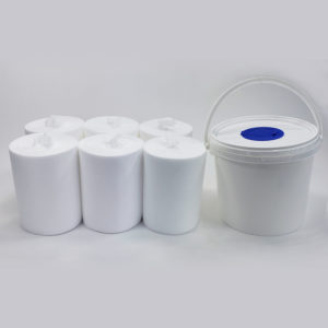 disinfectant wipes case with bucket